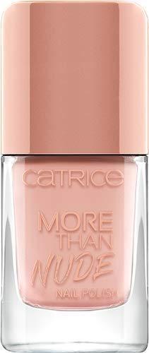 Catrice More Than Nude Nail Polish, Nailpolish, Nagellack, Nr. 07 Nudie Beautie, nude, langanhaltend, scheinend, ohne Aceton, vegan, Mikroplastik Partikel frei (10,5ml)