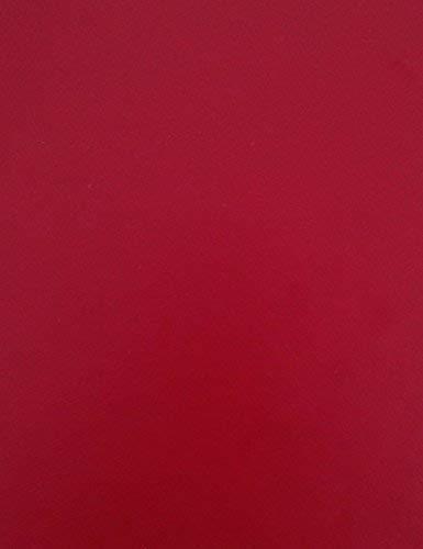 KEVKUS Wachstuch Tischdecke Meterware Unifarben weinrot Bordeaux Uni 209 Größe wählbar in eckig rund oval (100x140 cm eckig)