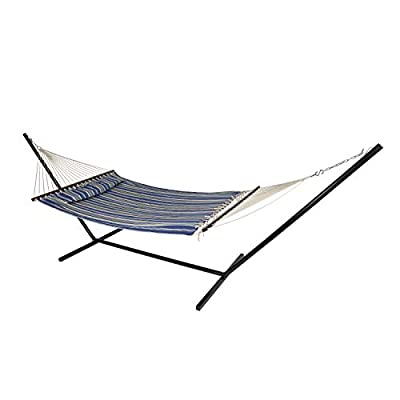Stansport Sunset Quilted Hammock, 55 x 79-Inch, Multi (30895)