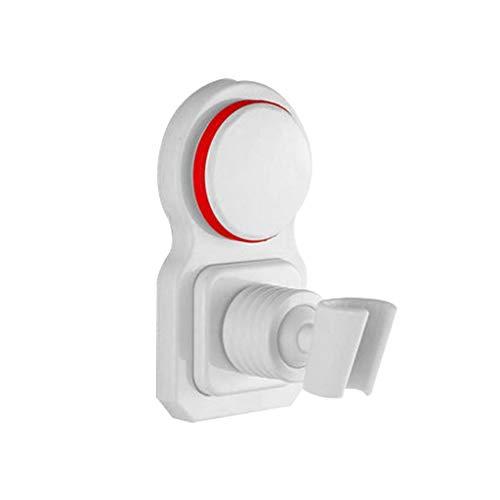 MLZWS Accesorios de Ducha de baño Tenedor de Lluvia Soporte de baño Bañera Soporte de Cabezal de Ducha Soporte Punch-Free Ajustable Agua Ahorro de Agua Montado (Color : A)