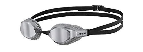 ARENA Unisex Wettkampfbrille Airspeed Mirror Schwimmen Unisex Erwachsene, Grau, Einheitsgröße (Größe Hersteller: TU)