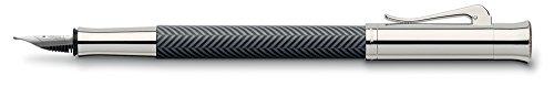 Graf von Faber-Castell, Füller, Guilloche Ciselé, Anthrazit | Füllfederhalter, Füllhalter, edel, hochwertig, Luxus, Schreibgeräte