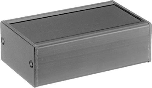 Monacor 33.3010 107x65x36.5mm Alu-Gehäuse/Schwarz