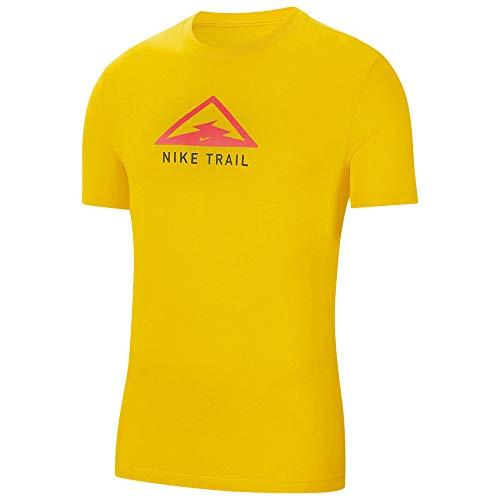 NIKE CT3857-735 T-Shirt, Speed Yellow, M Mens