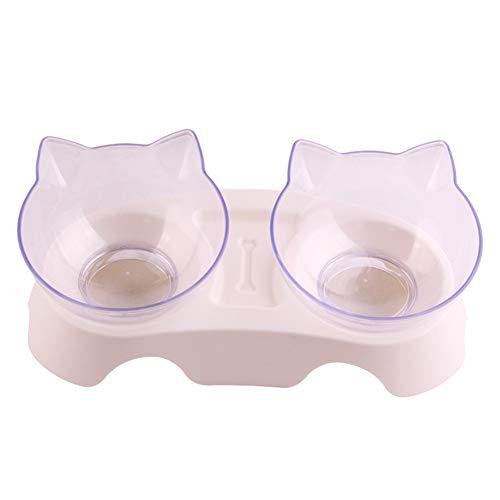 YuoungYuan Futternapf Katze Katzen Napfset Katzenschüssel Set Welpenschalen klein...