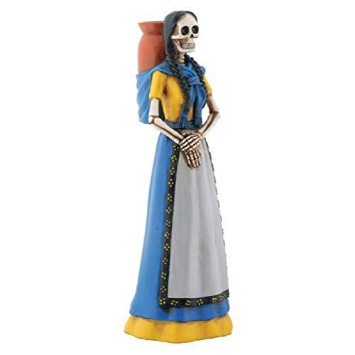 YTC Blue Skeleton Senorita with Jarrito