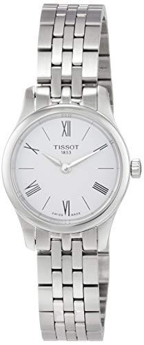 Tissot Reloj Analógico para Mujer de Cuarzo con Correa en Acero Inoxidable T0630091101800