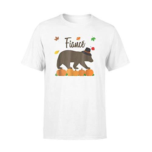 Fiance Bear Matching Family Thanksgiving T-Shirt