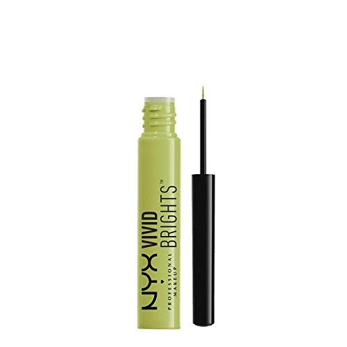 NYX PROFESSIONAL MAKEUP Vivid Brights Liquid Eyeliner - Vivid Escape Pastel Lime Green