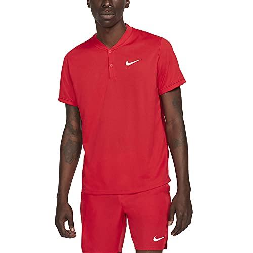 Nike M NKCT DF Polo Blade, University Red/White, L Uomo