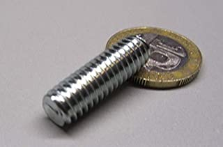 Zinc Plated 4-40X1//4 Flush Head Self-Clinching Studs Steel 10000pcs