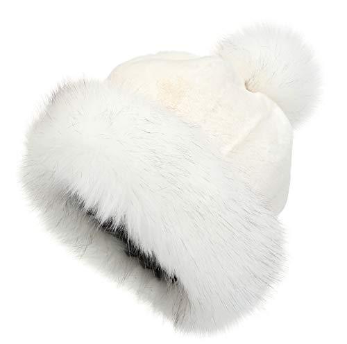La Carrie Women's Faux Fur Hat Russ…