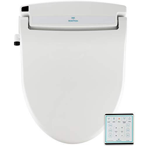 BidetMate 1000 Series Electric Bidet Heated Smart Toilet Seat with Heated Water, Wireless Remote,...