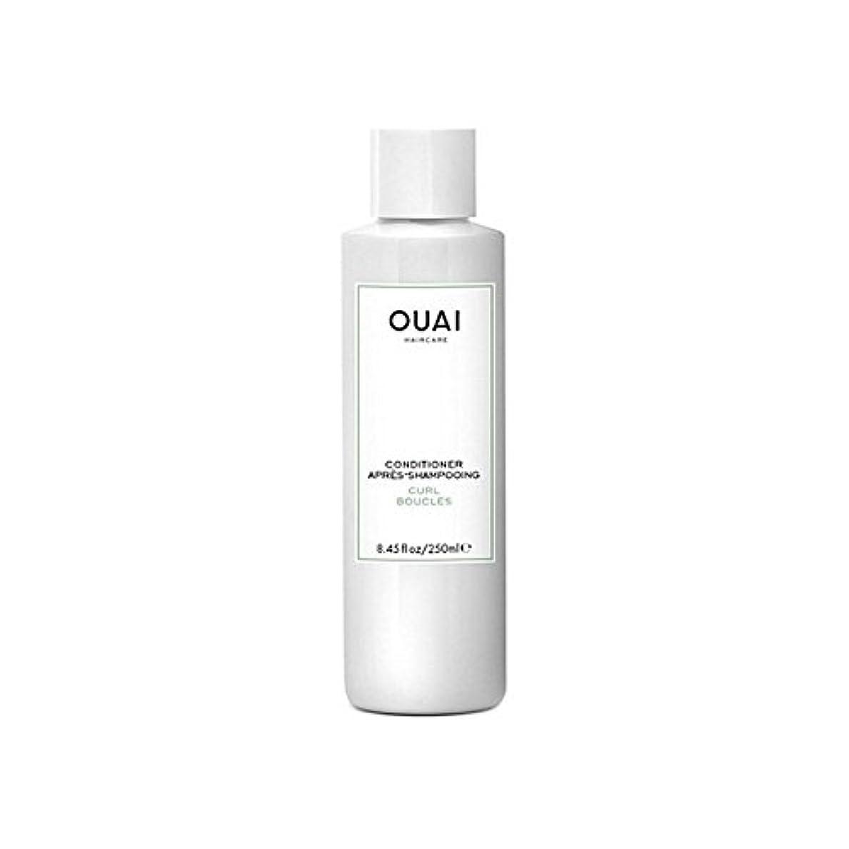 無効策定する宣言するOuai Curl Conditioner 250ml - カールコンディショナー250 [並行輸入品]
