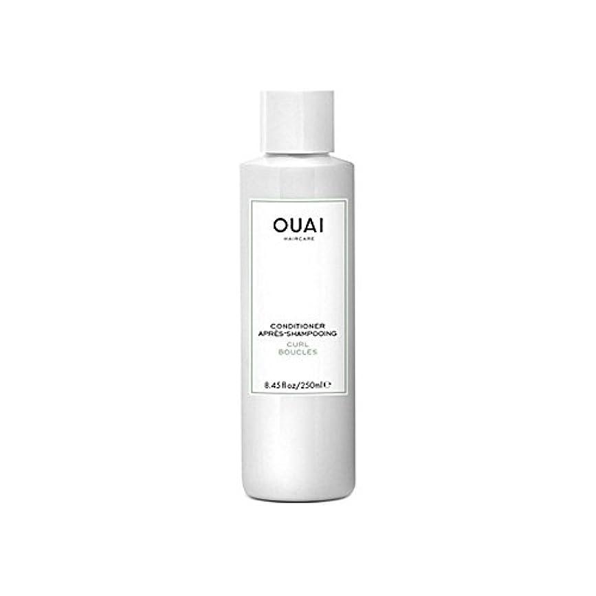 よりエントリ貫通Ouai Curl Conditioner 250ml (Pack of 6) - カールコンディショナー250 x6 [並行輸入品]