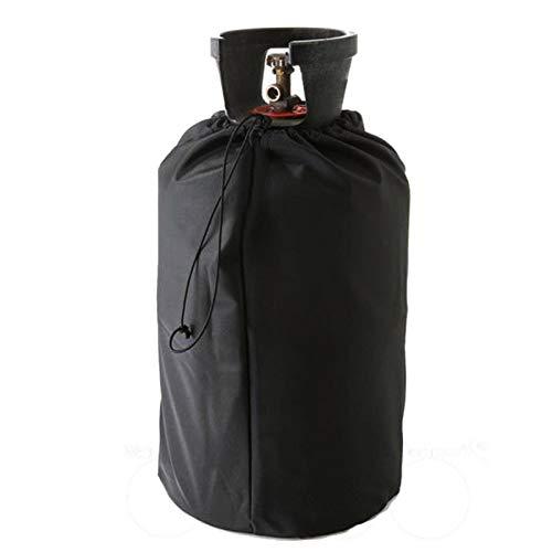 S/V Funda protectora para bombona de gas de 20 lb, resistente al agua, Oxford Propantank cubierta, resistente al viento y a los rayos UV, tapa para el tanque de gas al aire libre