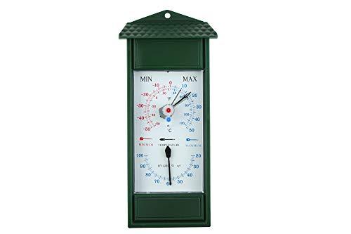 KOCH Minimum Maximum Thermometer mit Hygrometer, bimetall
