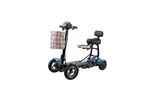 Dragon Mobile Foldable Lightweight Power Mobility Scooter Wheelchair Multi Terrain Easy Travel...