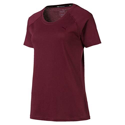 PUMA Damen A.C.E. Raglan Tee T-Shirt, Vineyard Wine, M