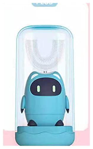 WANGGANG Cepillo de Dientes eléctrico para niños Smart Sonic U-Formado en Forma...
