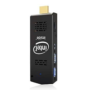 PC Stick Mini Computer Stick 128GB ROM 4GB RAM with Intel Atom Z8350 & Windows 10 Pro Support Auto-On After Power Failure,Support 4K HD,Dual Band WiFi 2.4G/5G BT 4.2 AKLWY  4+128 win10 pro