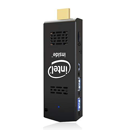 PC Stick Mini Computer Stick 128GB ROM 4GB RAM with Intel Atom Z8350 & Windows 10 Pro Support Auto-On After Power Failure,Support 4K HD,Dual Band WiFi 2.4G/5G, BT 4.2 AKLWY (4+128 win10 pro)