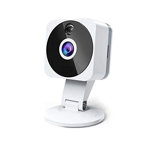 ZZCP Camaras de Seguridad WiFi Inalambricas, HD 1080P Camaras de Vigilancia con Vision Nocturna, Audio de 2 Vías, Sensor Movimiento y Cloud, Camara IP Interior para Bebe/Ancianos/Mascota Monitore