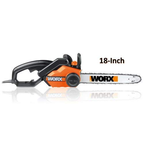 WORX WG304.1 15 Amp 18 in. Electric Chainsaw (15 Amp,...