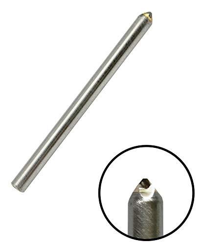 Corintian - Punto diamantato inciso a diamante, taglio burnisher - larghezza taglio 0,25-1,75 mm, diametro 3 – 6 mm, lunghezza 28,5 – 165 mm, incisione su metallo e vetro