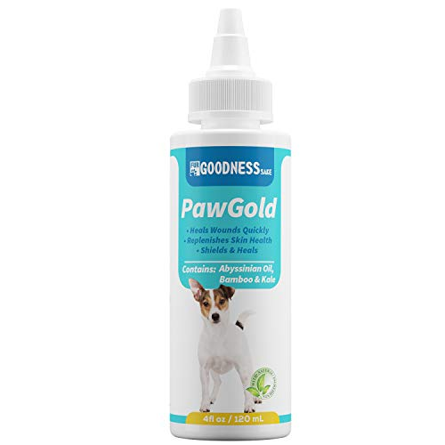 All Natural Dog Paw Balm, Paw and Nose Balm for Dogs That Heals 3X Faster Than Creams, Paw Soother...