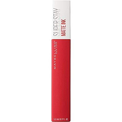 Maybelline Super Stay Matte Ink Liquid Lipstick, Pioneer 20, 0.17 fl oz (2 Pack) (Bundle)