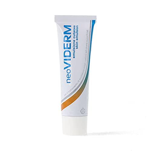 Rilastil Neoviderm - Emulsión Calmante y Regeneradora - Tratamiento para Quemaduras o Irritaciones - 30 ml