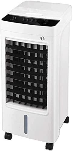 Ventilatore a freddo muto efficienza energetico, dispositivo di raffreddamento mobile, serbatoio di acqua 5L, ventola di climatizzazione ad aria raffreddata per la casa