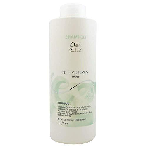 Wella Professionals Nutricurls Waves Shampoo, 1000 ml