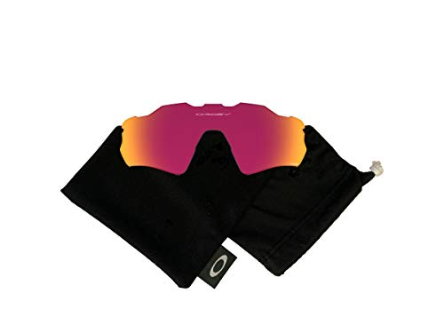 Oakley Original Radar EV Path OO9208 Replacement Lenses For Men For Women+BUNDLE with Oakley Microfiber Cloth Bag, Prizm Road, 38