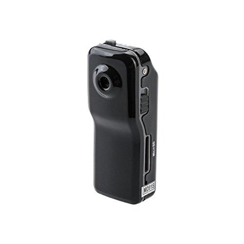 KOBERT GOODS K41 Mini WiFi Überwachungs-Kamera sehr klein mit WLAN-Funktion für Foto und Video-Aufnahmen mit Ton-Aufzeichnung inkl. Bewegungs-Erkennung sowie USB Lade-Funktion und viel Zubehör