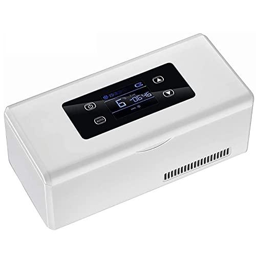 Refrigerador Portátil Para Medicamentos, Caja De Insulina Para Automóvil Refrigerador De Insulina Adecuado Para Viajar Y Acampar