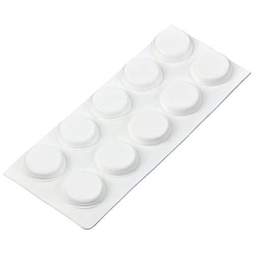 haggiy peha Elastikpuffer, weiß, selbstklebend, rund 13 mm/Stärke 4 mm (2x10 Stück)