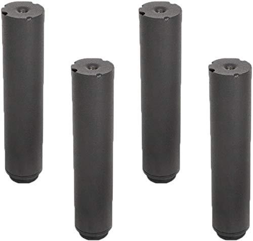 4 Pcs Pieds De Meubles Cadre De Lit Extensible RéGlable Pieds De Support De Lit De Cylindre Pieds LatéRaux Pieds De Meuble Pieds De Support De Lit Pieds De Cadre De Lit Accessoires Forte Capacité De