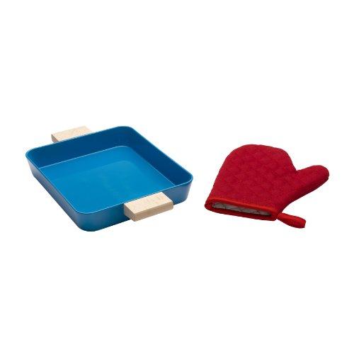 Brio 31430 - Kit per Cucinare Biscotti, Include teglia e Guanto