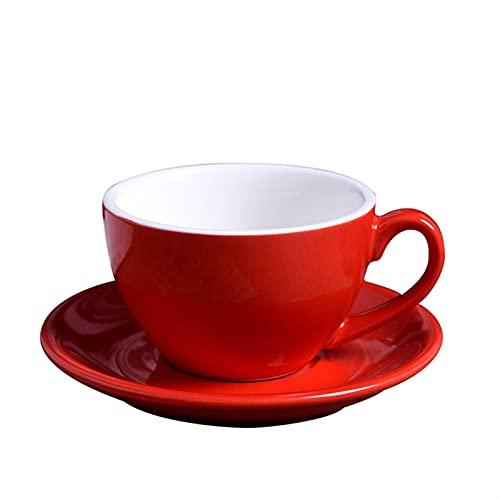 SHHSHH 220ml Taza de café de cerámica Nueva Taza de Taza de Taza de Taza de Taza de Taza de Vino Taza de Vino Taza de Vidrio Taza de café de Gran Capacidad Capuchina Cafetería