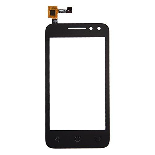 WANGQI Repuestos de reparación de teléfonos móviles For Alcatel pixi de táctil 4 4.0/4034Montaje de digitilizador de Pantalla (Color : Black)