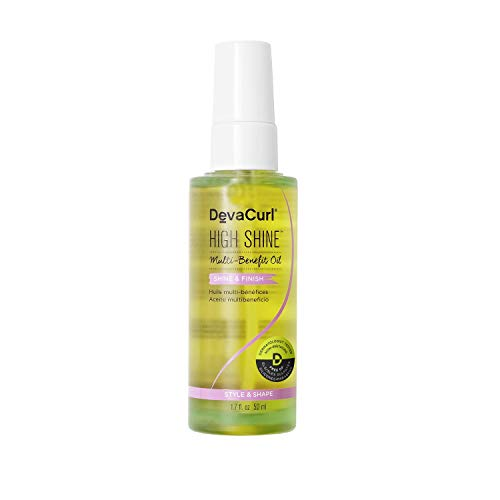 DevaCurl High Shine (Multi-Benefit Oil - Shine & Finish) 50ml