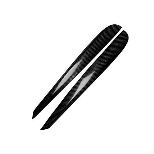 Scheinwerferblenden 2 PCS Scheinwerfer Eyelids Trim Braue Aufkleber, Carbon-Faser-Auto-Lampe Augenbraue dekorative Aufkleber, for die Jahre 2009-2012 Volkswagen Golf 6 / MK6 / Vi