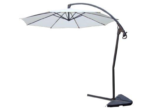CONCEPT USINE 1486.0 Nebbio Parasol Déporté Ecru Ø 300 cm