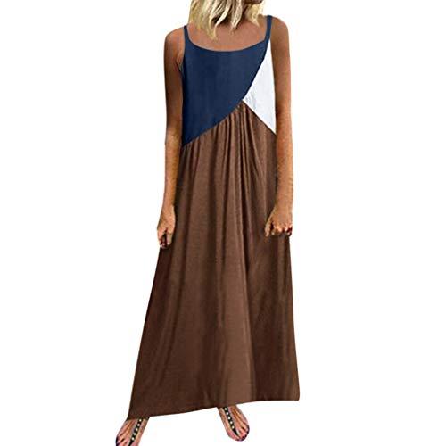 Auifor Vestido Uranus venca Vestidos Ver de Mujer vestído Ajustado Amarillo años 64 Vestido años Mujer Arras niña Asimetrico Azul Claro Largo Bandage Bebe