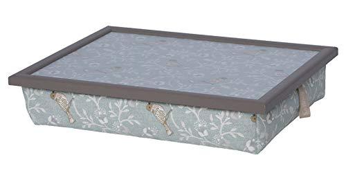 Andrew´s Knietablett Laptray mit Kissen Tablett für Laptop Elegant Birdie