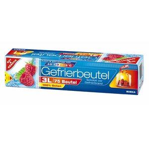 Gut & Günstig 75 Gefrierbeutel 3L +Clip
