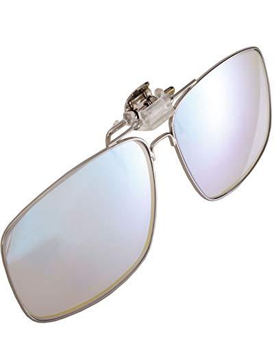 KTYX Lentes Correctivos para Daltónicos Lentes con Clip - Gafas para Daltonicos para Rojo-Verde - Color Blind Correction para Deutan Y Protan - La Visión del Color Marca La Diferencia