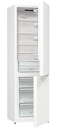 Gorenje NRK 6202 EW4 Kühl-Gefrierkombination / 200 cm / 331 l / No Frost Plus / Multi Airflow System / Weiß
